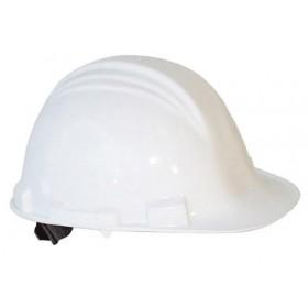 M-Safe veiligheidshelm ABS MH6020, draaiknop verstelbaar 6-punts binnenwerk, kleur wit