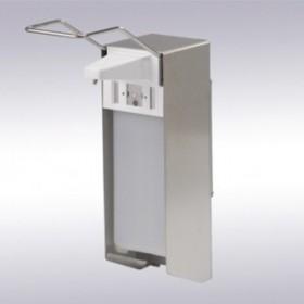 Cleen Medical RVS Zeepdispenser met lange bedieningsbeugel   Navulbaar   1000 ml