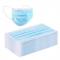 Medical mondmaskers/mondkapjes type II R met oorelastiek, 3-laags, kleur blauw (dispenserdoos 50 stuks)